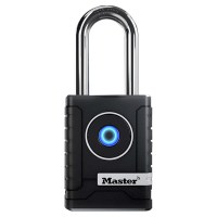 Master Lock BlueTooth Padlock for External use with Long Shackle