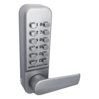 Borg Locks 2401 Easicode with Optional Holdback Digital Door Lock