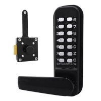 Borg Locks 4409 Marine Grade Wooden Gate Lock Slam Latch  Digital Door Lock