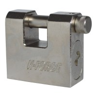Baton K-Force Shutter Container Sliding Shackle Padlock 66mm