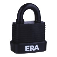ERA Laminated PVCu Case Padlock - Weather Proof 45mm