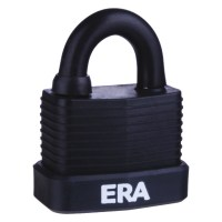 ERA Laminated PVCu Case Padlock - Weather Proof 55mm
