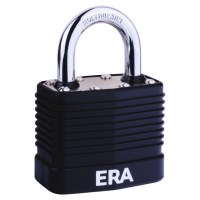 ERA Laminated PVCu Case Padlock - High Security 45mm