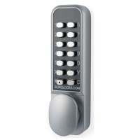 Borg Locks BL 2201 Pro Digital Lock Easicode Satin Chrome - BL2201ECP