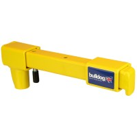 Bulldog VA102 Near Side Sliding Door Lock - Yellow