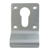 Dortrend Witley Euro Cylinder Door Pull Satin Anodised Aluminium Screw on