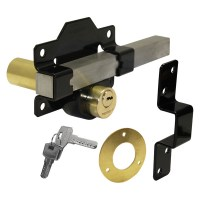 Aperry 1127 Double Locking Gate Lock with Long Throw 50mm