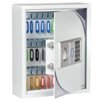 Burtonsafes KS Key Cabinet with - 27 Key Hooks