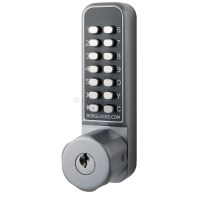 Borg Locks BL 2701 Pro Digital Lock Easicode Satin Chrome - BL2701ECP