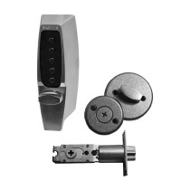KABA Simplex 7104 Digital Lock with Deadlocking Latch Satin Chrome