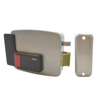 CISA 11610 Electric Rim Lock for Internal Wooden Doors Right Hand Out