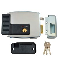 CISA 11921 Electric Rim Lock External Metal Door / Gate Right Hand Out