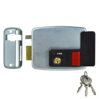 CISA 11931 Electric Rim Lock External Metal Door / Gate Left Hand In
