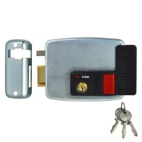 CISA 11931 Electric Rim Lock External Metal Door / Gate Left Hand Out