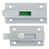 Dortrend Clifford Bathroom Indicator Bolt Satin