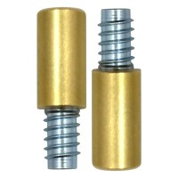 Bramah Rola R1/04 Sash Stop Brass 2 Stops and 2 Inserts
