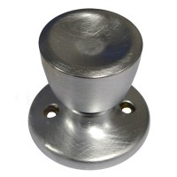 Weiser NA12 Beverly Dummy Knob Satin Chrome