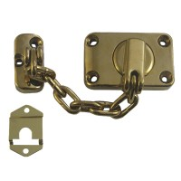 Yale-Chubb WS16 Combined Door Chain and Bolt Brass