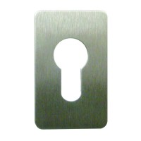 Souber Tools EE3 Euro Escutcheon Stainless Steel