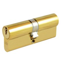 Union 2x18 5 Pin Double Cylinder 74mm Brass