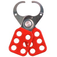Asec Lockout Tagout Safety Hasp - Red 38mm