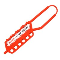 Asec Lockout Tagout Safety Hasp Non Conductive 6 Holes