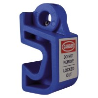 Asec Lockout Tagout Mini Circuit Breaker - Blue