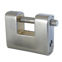 Asec AS 770 Straight Shackle Padlock Stainless Steel 90mm